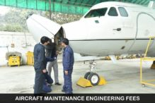 Aircraft Maintenance Engineering Fees in India & Abroad