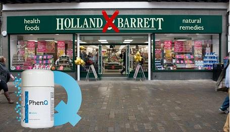 where to buy phenq holland and barrett