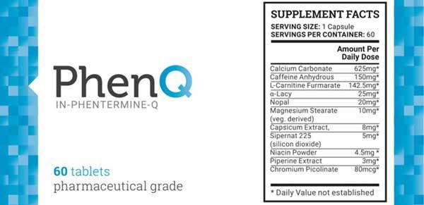 PhenQ Ingredient