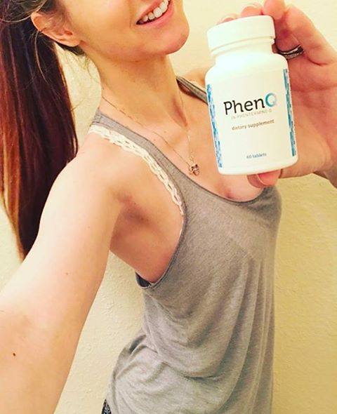 Woman Holding PhenQ