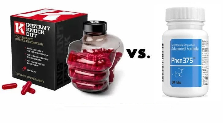 Instant Knockout Vs Phen375:  Do These Burn Fat Effectively?