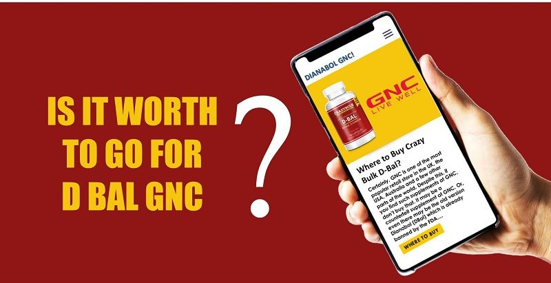 Where To Buy DBal [Dianabol Alternative] – Is It Worth To Buy From GNC?