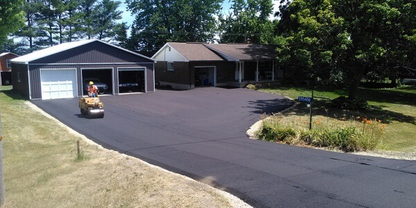 Size and Shape of Driveway