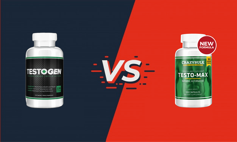 TestoGen vs TestoMax: Which Is Natural, Most Effective and Safe?