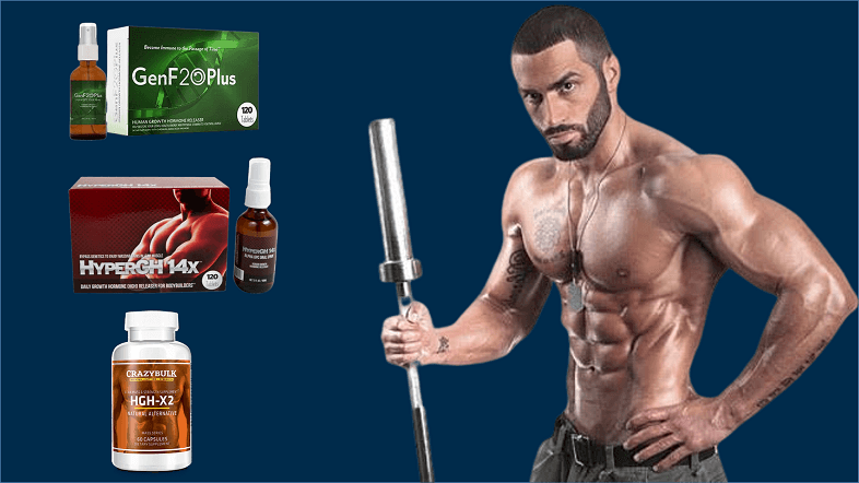 Best HGH Boosters Reviews: GenF20 Plus, HyperGH 14X or HGH X2