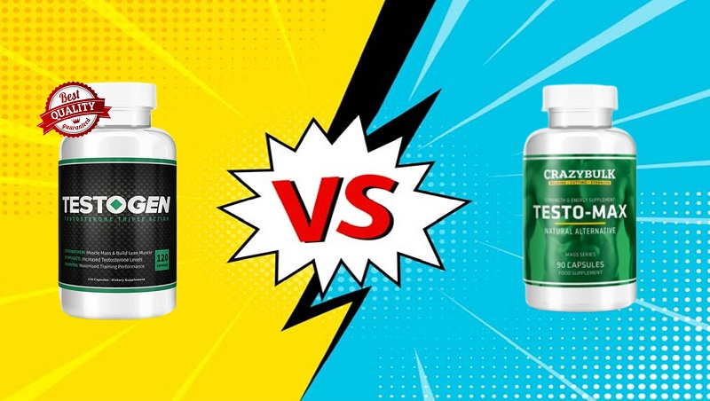 TestoGen Vs TestoMax: Which Is Strong and Effective T-Booster?