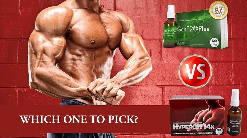 HyperGH 14X vs GenF20 Plus: Which Is the Best HGH Booster?