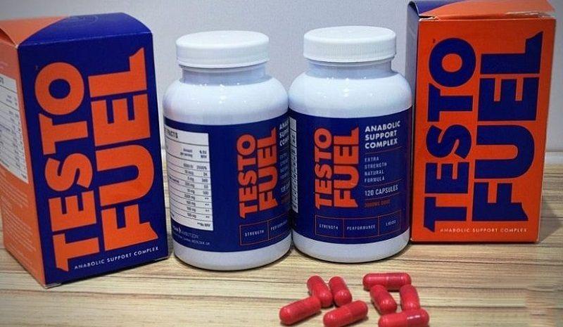 TestoFuel T-Booster Pills