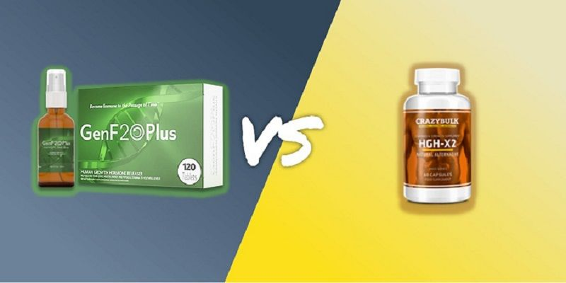 GenF20 Plus VS HGH-X2 | Which Is More Effective HGH Booster?