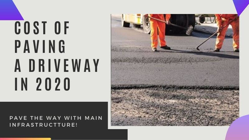 5 Factors To Determine Driveway Paving Cost In 2020