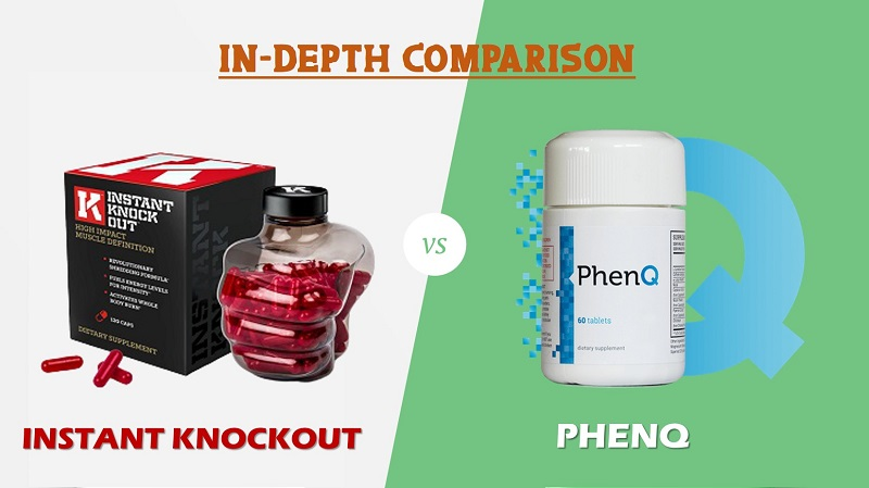 PhenQ Vs Instant Knockout – Comparison Between The Top 2 Fat Burners
