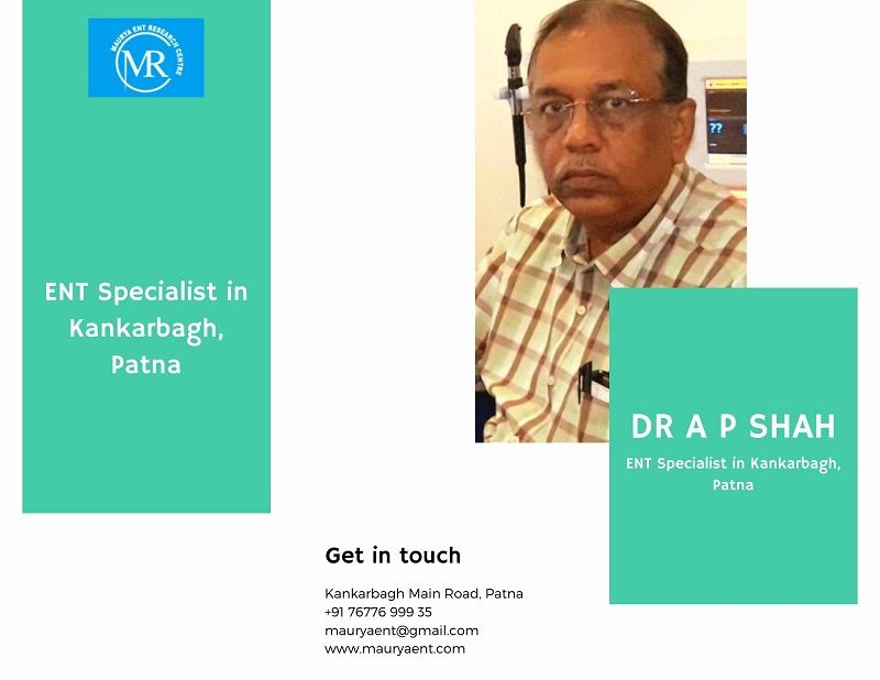Dr. A P Shah – Best ENT Specialist in Kankarbagh Patna