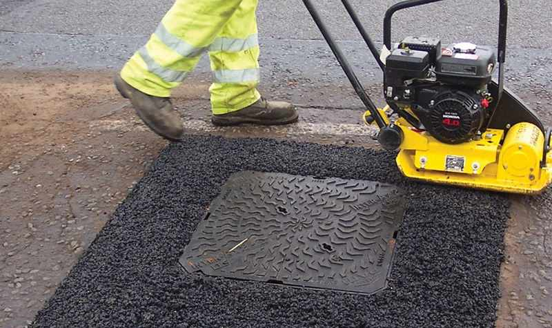 Asphalt Patching Methods to Get Rid of Potholes in Your Driveway
