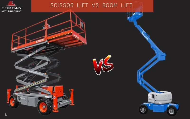 Scissor vs Boom Lift