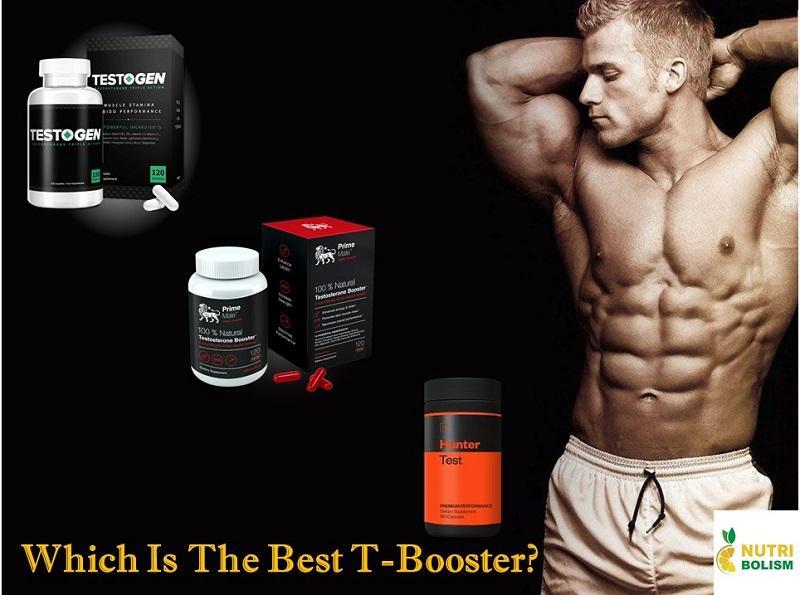 TestoGen vs Prime Male vs Hunter Test: Choose the Best T-Booster
