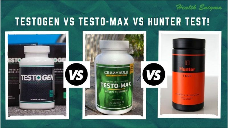 TestoGen vs Testo-Max vs Hunter Test | The Best Testosterone Pills Review