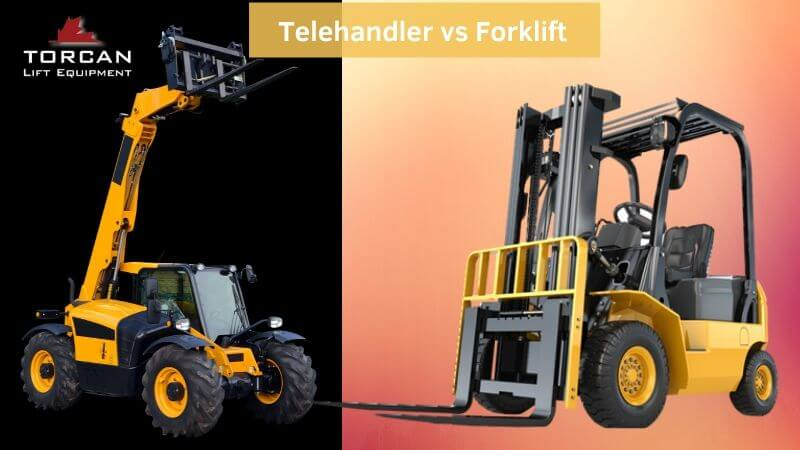 What Is The Difference Between A Telehandler vs Forklift?