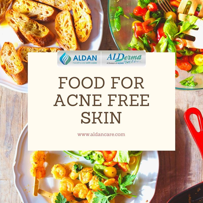 Best Food for Acne Free Skin | Acne Diet Plan
