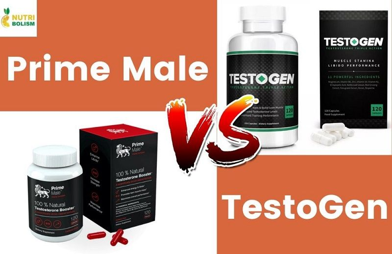 Comparison of the Prime Male vs TestoGen Testosterone Boosters