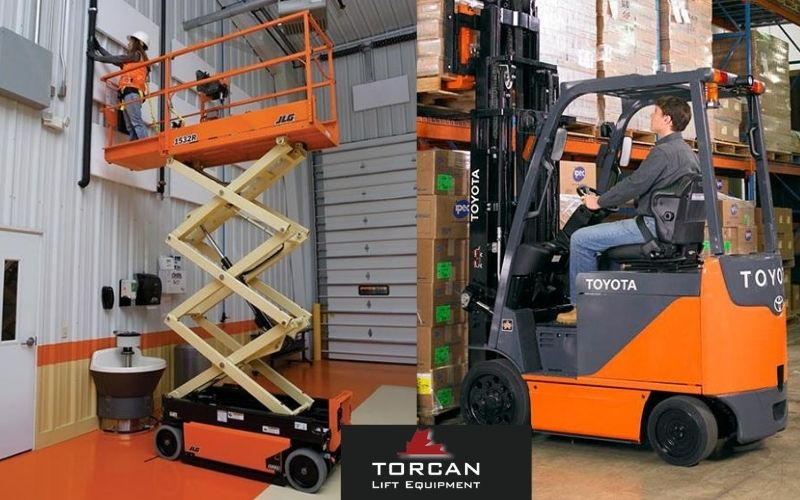 Know The Difference Between Forklifts Vs. Scissor Lifts