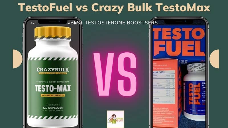 Comparing The BEST T-BOOSTER TestoFuel vs Crazy Bulk TestoMax