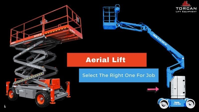 How To Select The Right Aerial Lift Is Right For Job Task?