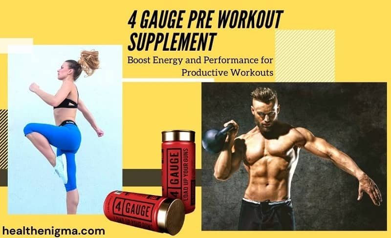 4 Gauge Pre Workout Ingredients, Benefits, and Side Effects