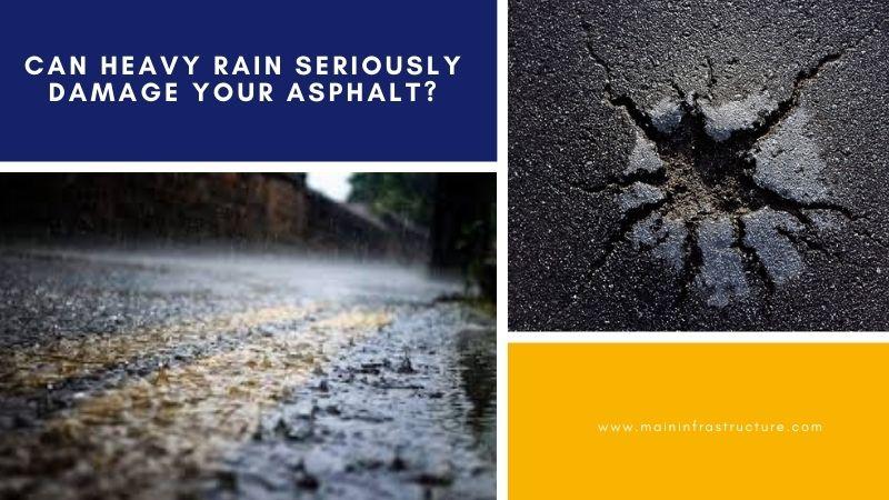 asphalt and rain