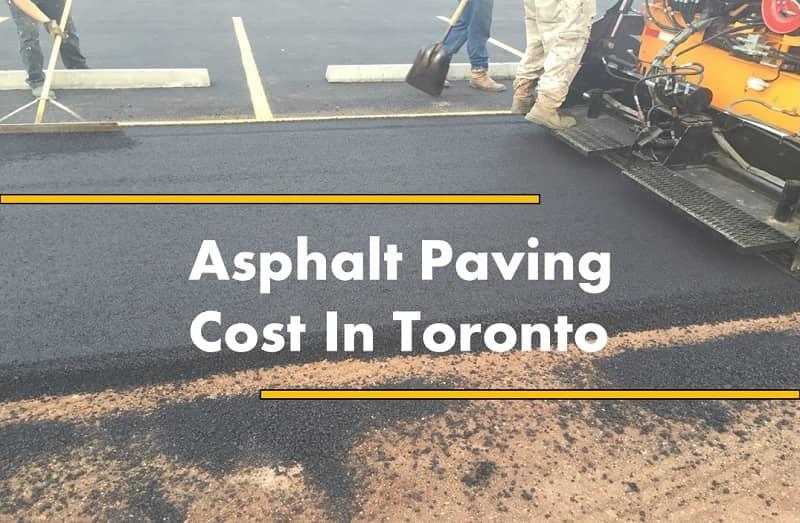 asphalt paving cost
