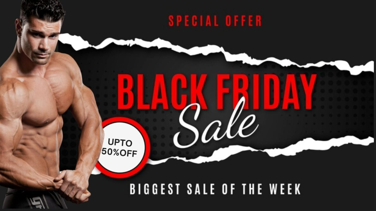 Black Friday Sale 2020 – PhenQ/ TestoGen/ D-Bal At Lowest Price!