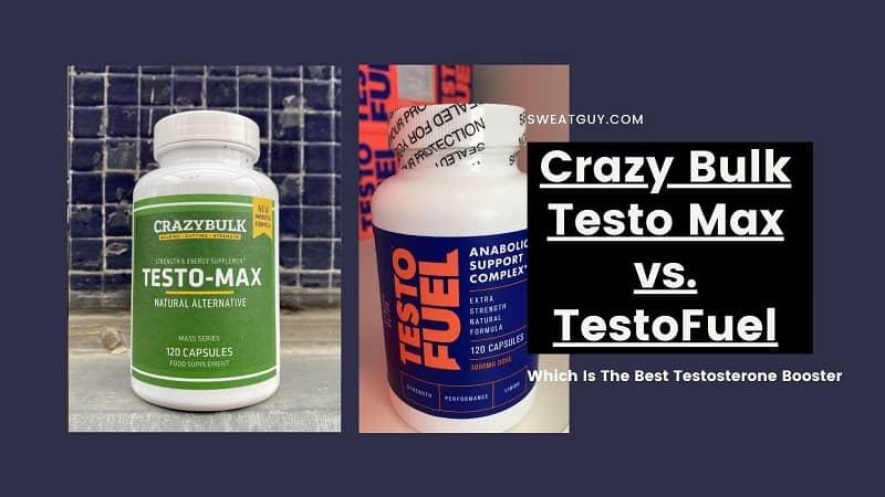 Comparison: TestoFuel vs Crazy Bulk Testo Max | Which Is Better?