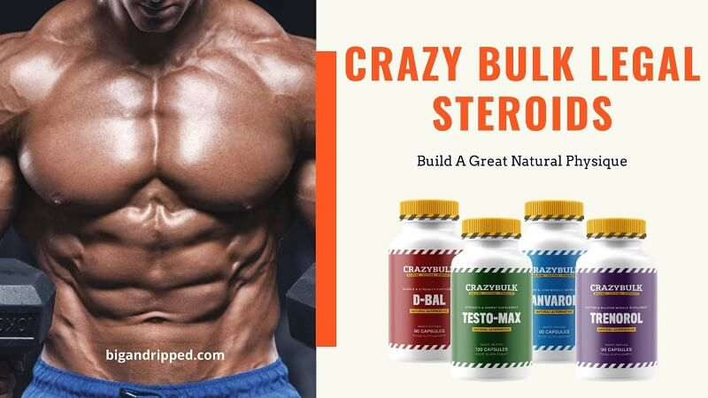 Best 4 Crazybulk Legal Steroids | Bodybuilding Stacks Review