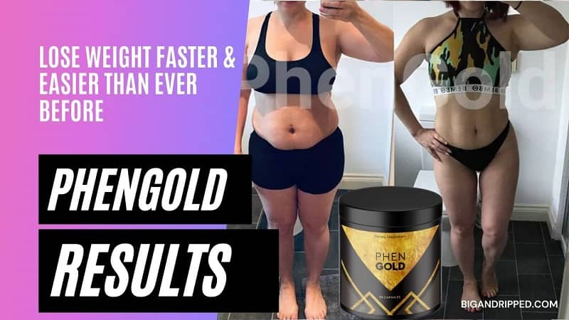 PhenGold Fat Burner Results With Before And After Pictures