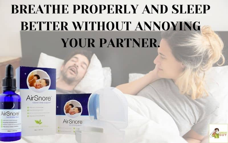 Airsnore mouthpiece