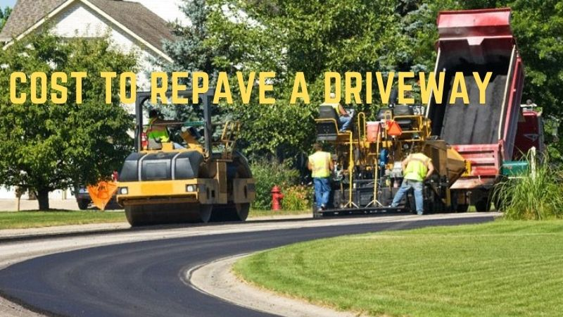 How Much Does It Cost To Repave An Asphalt Driveway?