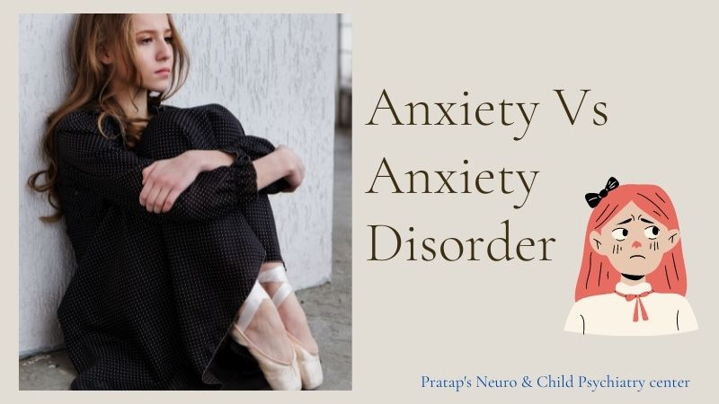 Understanding the Difference Anxiety Vs Anxiety Disorder!