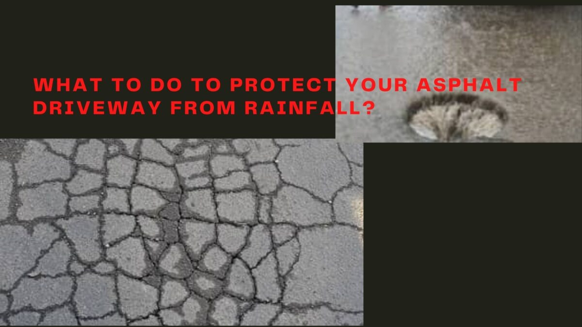 Does Rainfall Affects Your New Driveway Asphalt Paving?