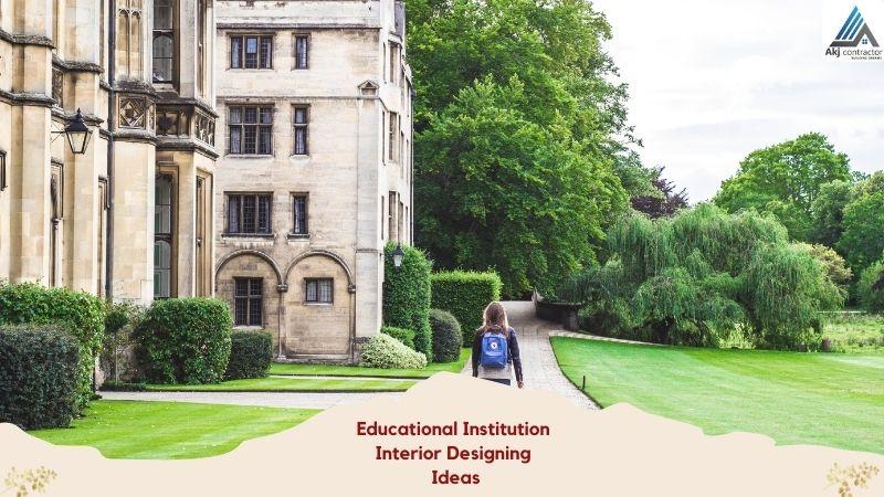 Educational Institution Interior Designing Ideas [Educational Spaces Architecture]
