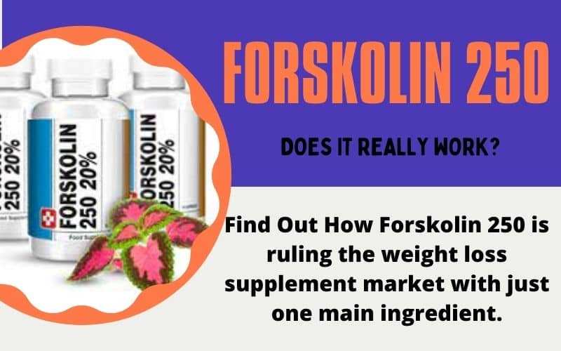 Forskolin 250 Review [Does It Really Work For Weight Loss?]