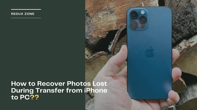 How to Recover Photos Lost During Transfer from iPhone to PC