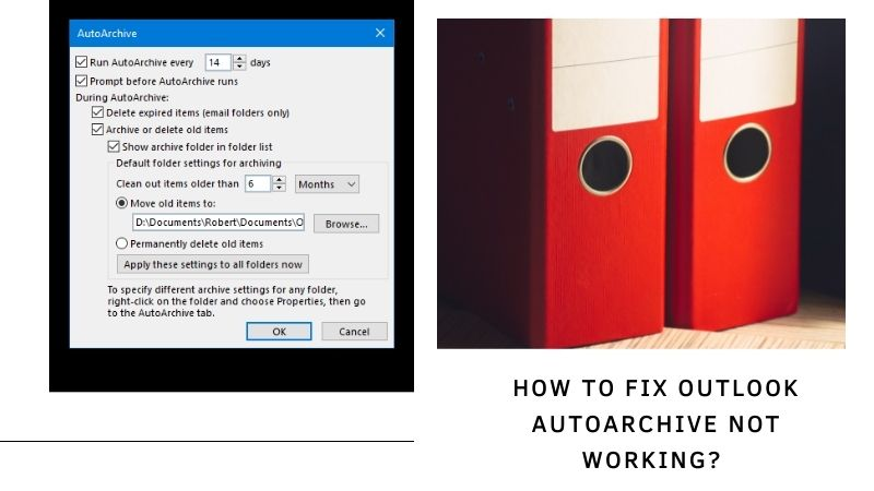 How to Fix Outlook AutoArchive Not Working? [AutoArchive Outlook 365]
