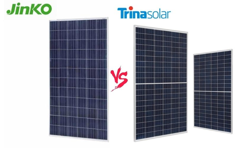 Trina vs Jinko Solar – Which One Is The Best Solar Panel Manufacturers?