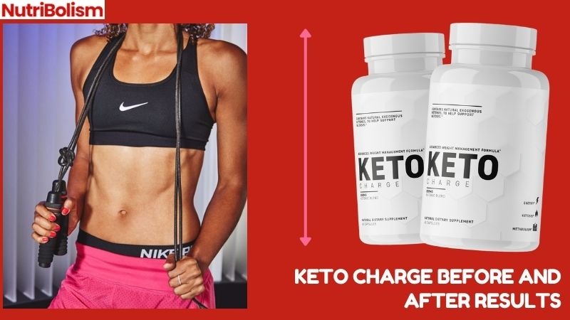 Keto Charge Before and After Results