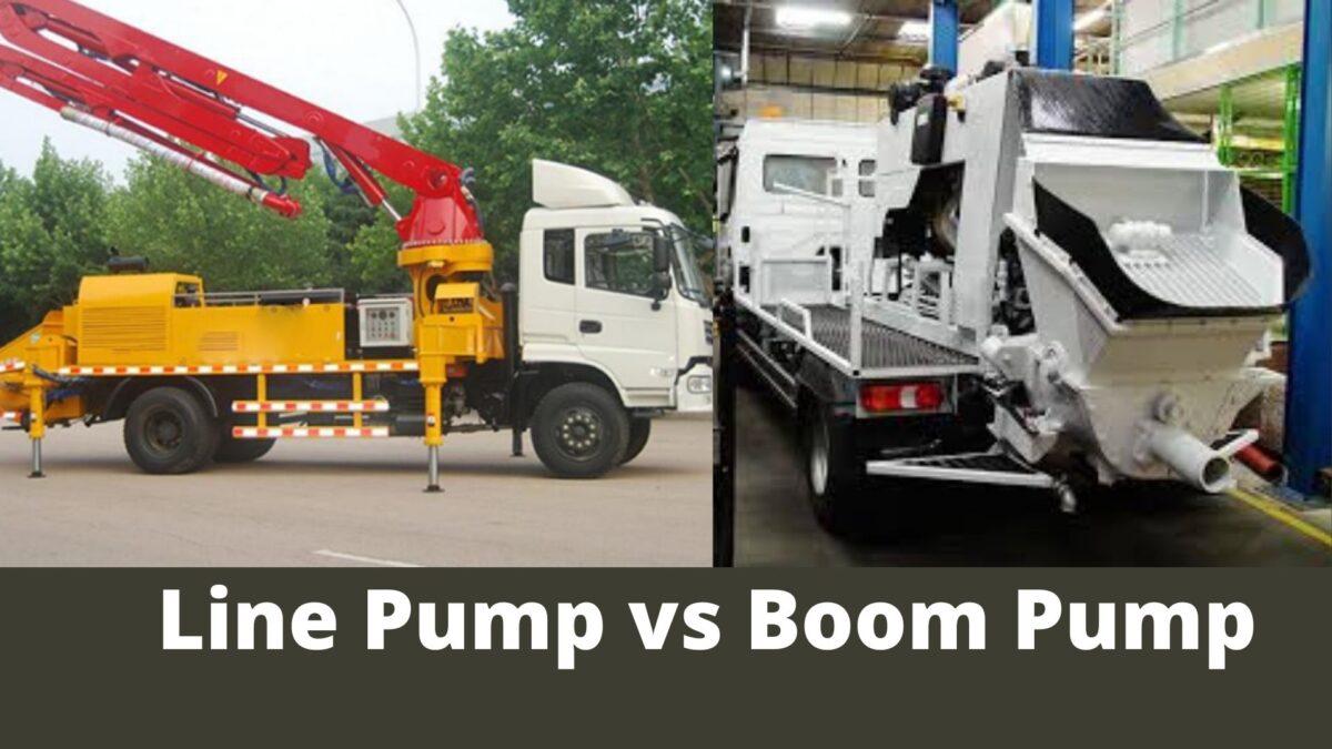 Line Pump vs Boom Pump: Best For Concrete Pumping Project