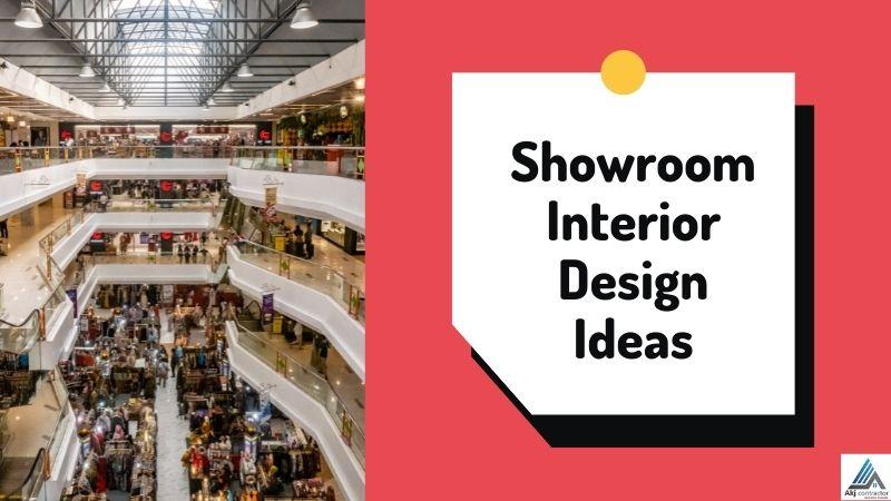 The Alluring Showroom Interior Design Ideas