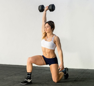 lunges for thigh fat