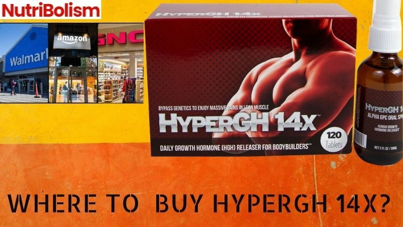 Where To Buy HyperGH 14X -HGH Booster & BodyBuilding Supplement