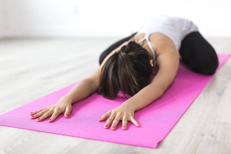 Yoga stretches to relieve sore muscles