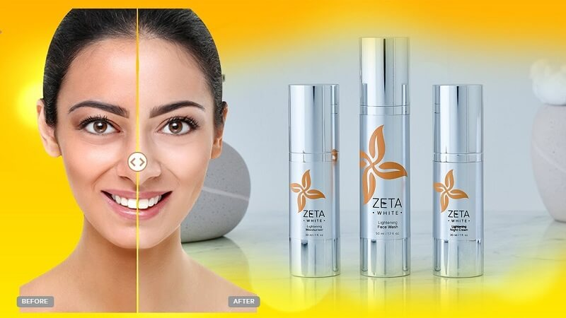 Zeta White Skin Lightening System Results | Lightens & Brightens Skin