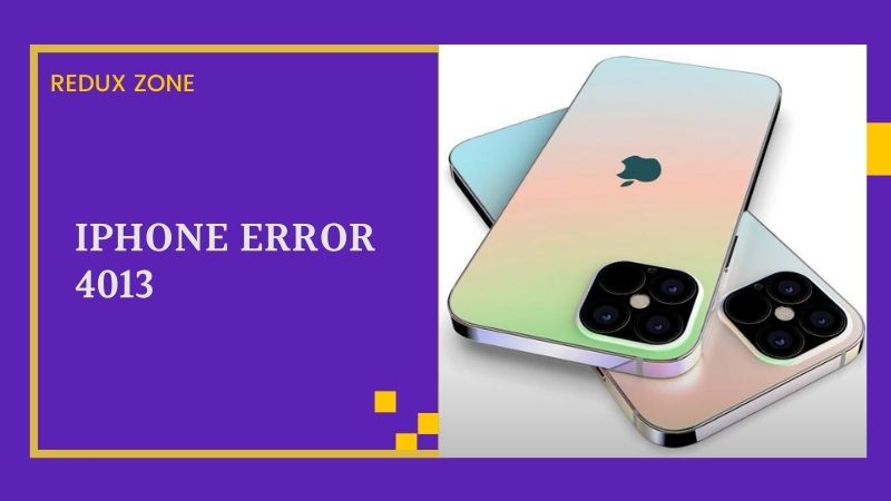 Simple and Easy Methods to Fix iPhone Error 4013